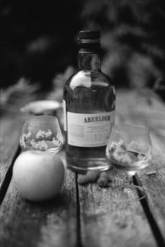 """""""Aberlour Single Malt Scotch Whisky"""" - Nikon FE2, Rollei Infrared 400, Rodinal."""