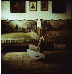 looking at things | abandoned. Camera: Kiev 88. Film: Kodak Portra 160.