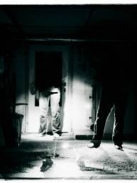 Flashlight Experiments. Camera; Kiev 88, Film: Kodak BW400CN.