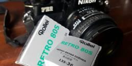 Rollei Retro 80S Black and White Film & Nikon FE2